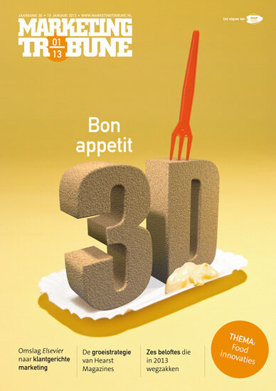 vijselaarensixma cover illustratie 3D Printed Food 2013