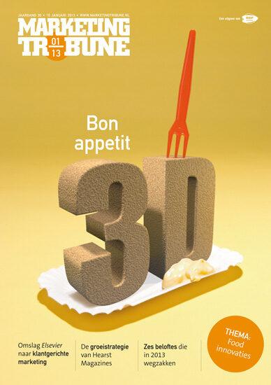 vijselaarensixma cover illustratie 3D Printed Food 2013