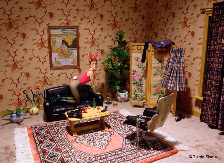 Tjarda Sixma foto Feeling sexy / 2001