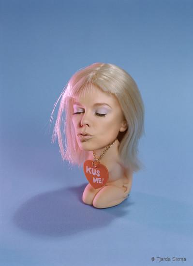 Tjarda Sixma foto Kiss me / 1998