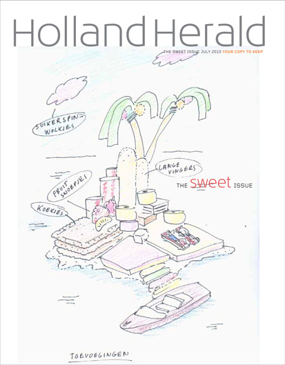 KLM Holland Herald magazine Cover Noclouds - Concept