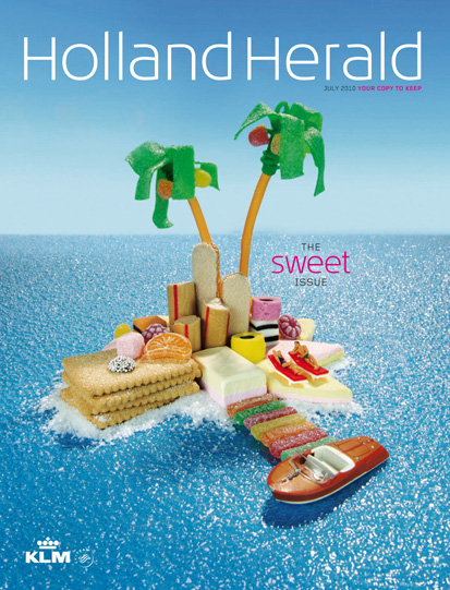 KLM Holland Herald magazine Cover Noclouds