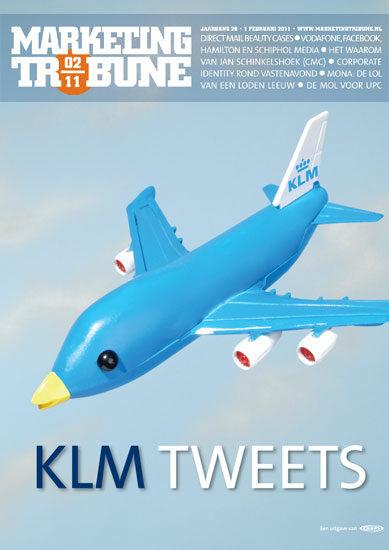 vijselaarensixma cover illustratie Heineken KLM twitters 2009