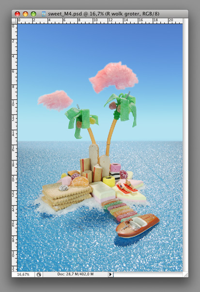 KLM Holland Herald magazine Cover Noclouds - Montage B