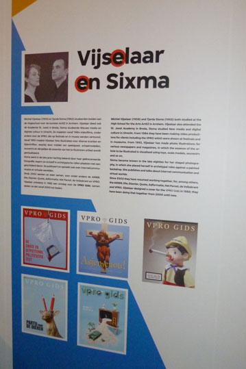 Vijselaar en sixma paneel voor expositie Omslag!
