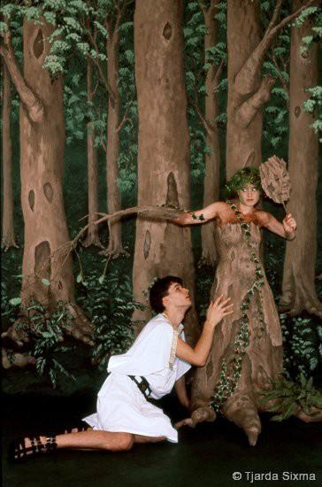 Tjarda Sixma foto Daphne en Apollo / 1988