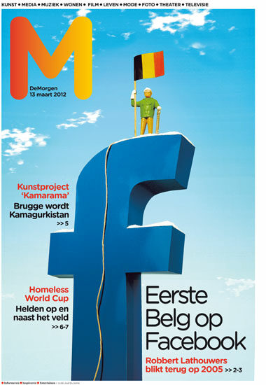 vijselaarensixma cover illustratie First Belgian on Facebook 2012