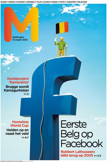 vijselaarensixma cover illustratie First Belgian on Facebook 2012