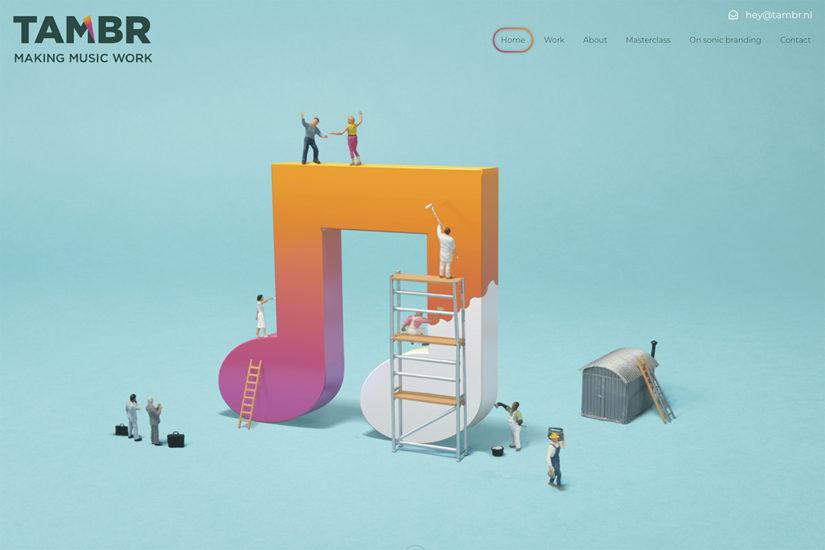 vijselaarensixma 3D Logo homepage / 2018