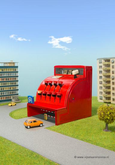 vijselaarensixma illustratie Expensive Parking 2015
