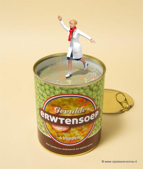 vijselaarensixma illustratie Spit Pea Soup Test 2018