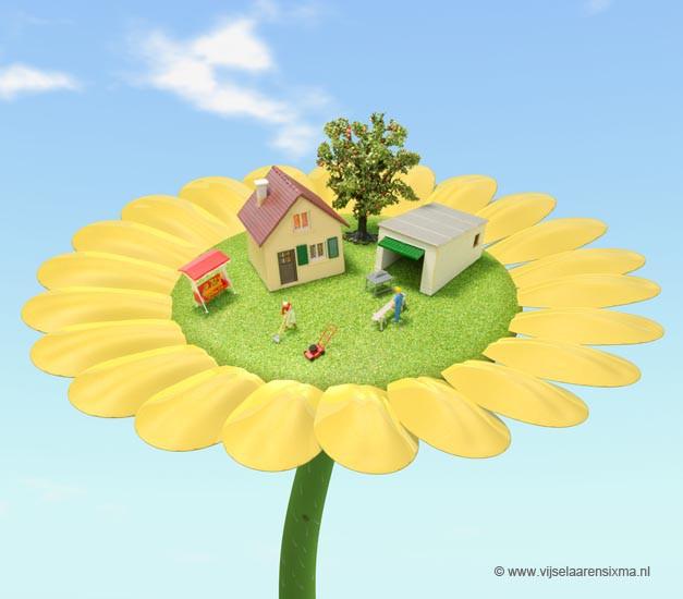 vijselaarensixma illustratie  Happy House Owner