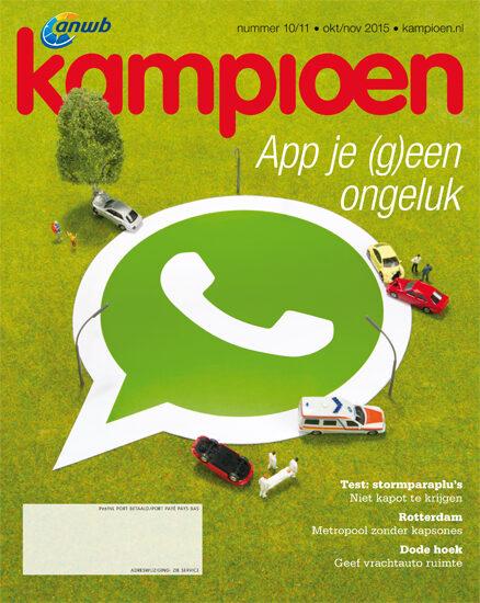 vijselaarensixma cover illustratie Whatsapping While Driving 2015