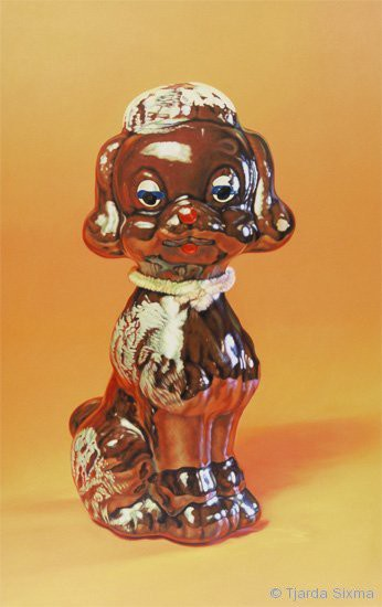 Tjarda Sixma painting No title (Brown Dog) / 1998