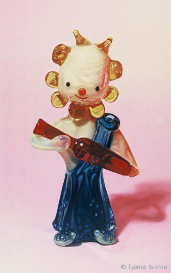 Tjarda Sixma painting No title (Bachus) / 1997
