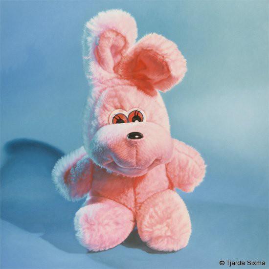Tjarda Sixma painting No title (Fluffy Rabbit ) / 1997